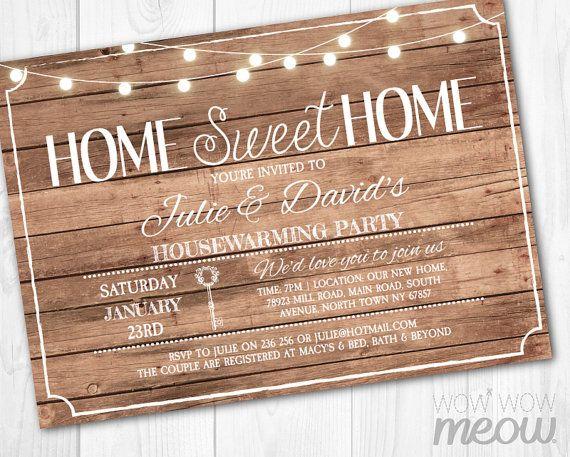 25 best Housewarming Invitation images on Pinterest Housewarming - fresh invitation card wordings for housewarming