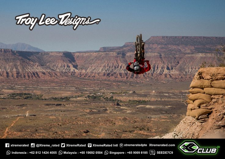 Tom Van Steenbergen  front flip or back flip?  🤔 | RedBull Rampage 2017 | Troy Lee Designs MTB 2017 Collections available now in all XClub Stores |   #xtremerated #xclub #tldbike #mtb #downhill #gravity