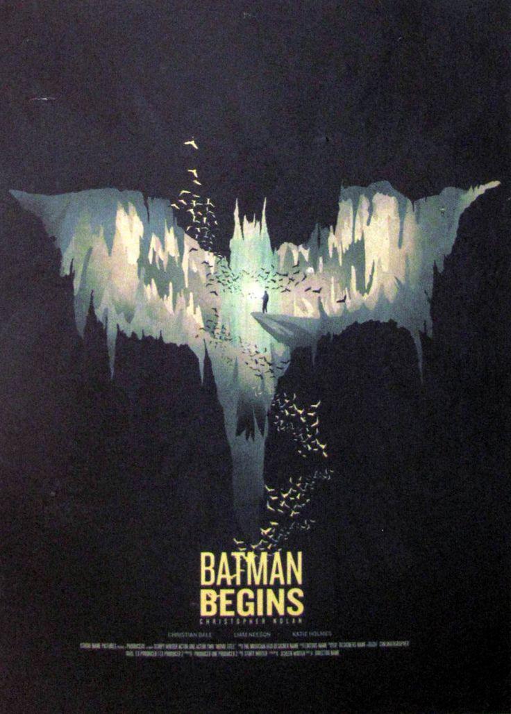 Постер к фильму Бэтмен: Начало 2 :: Интернет-магазин дизайнерских постеров