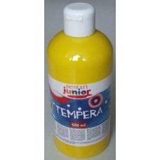 Pentart sárga tempera festék 500 ml műanyag flakonban - Pentart Junior 6484 Ft Ár 749 Pentart sárga tempera festék - Vízzel hígitható festék  Sárga tempera festék 500 ml műanyag flakonokban. A tempera festék egyenletesen fed, keverhetősége kiváló más gyártású temperákkal is. A tempera festék vízzel hígitható. A tempera festék adagolása kiváló a flakonból, hasonlóan mint a folyékony szappan. Egy flakon 500 ml tempera festéket tartalmaz. A címkén jelölve van a tempera festék színe és kódja…