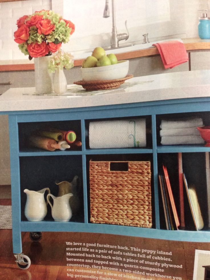 kitchen island made from 2 ikea hemnes sofa tables kitchen ideas so you can set up a modern kitchen fresh