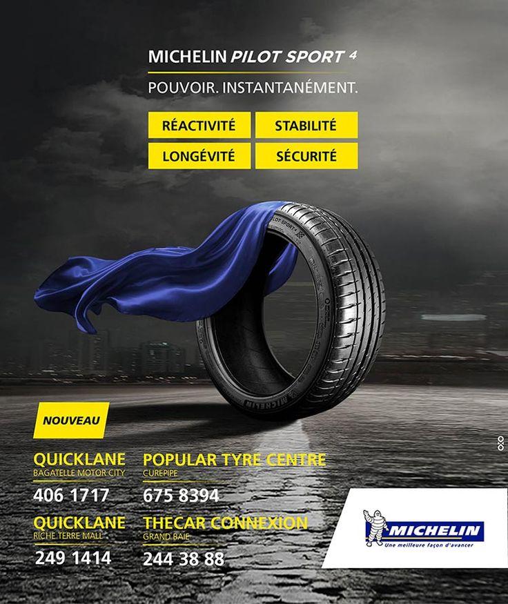 Michelin Nouveau Michelin Pilot Sport 4. Tél 406 1717