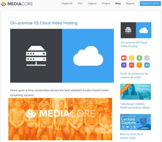 MEDIACORE: Créez votre plate-forme de capsules vidéos, audios, textes pour classe inversée ou pour un usage d'apprentissage mixte |