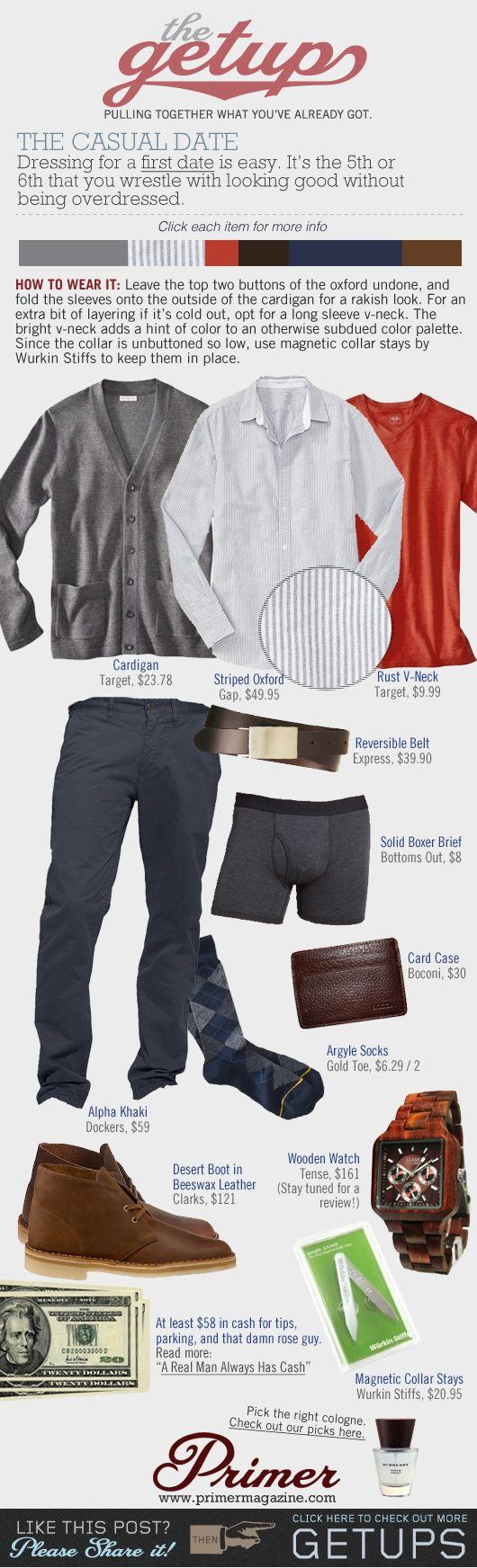 The Getup: The Casual Date - Primer
