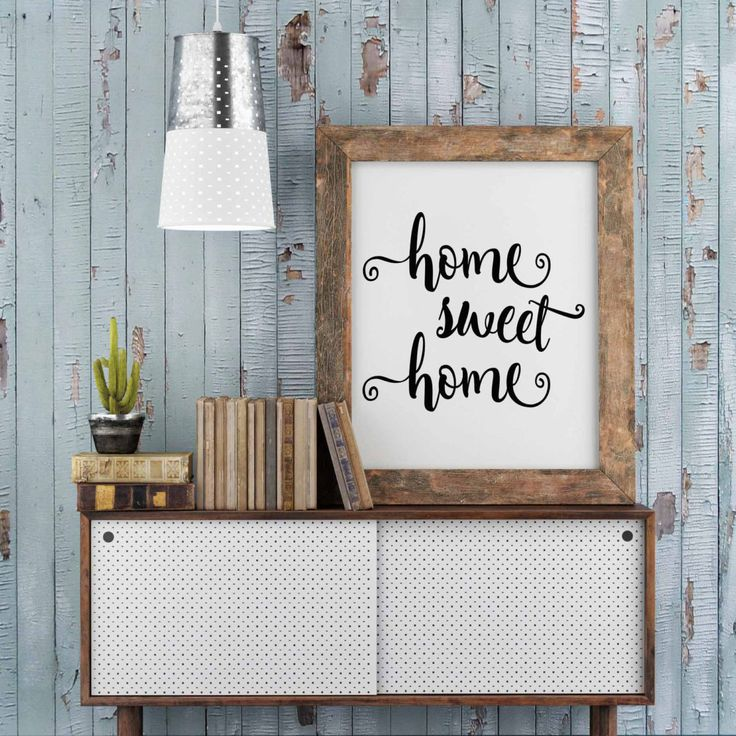 Printable Home Sweet Home Home Decor Quote Print Home Sweet Home Print Home
