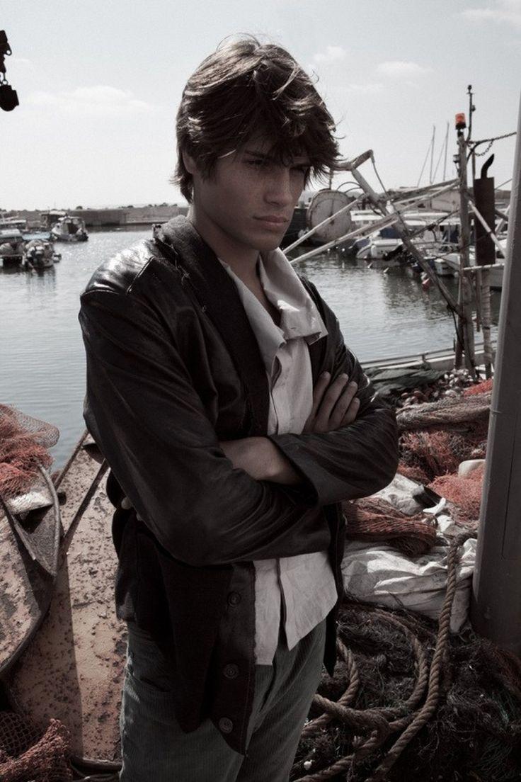 "Israeli Model Anton Davidzon at Passion Management in ""Jaffa Fisherman"" by Florian Maas."