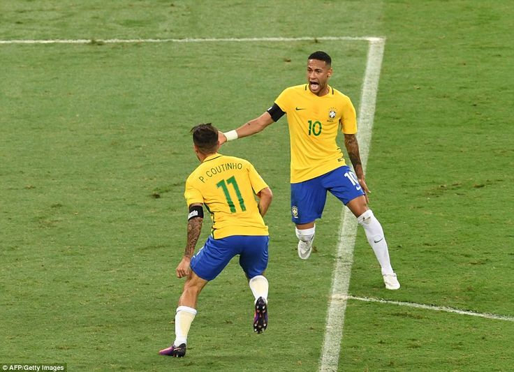 Brazil 3-0 Argentina  Hosts overpower Messi s side to cement top spot 8594c9470435c