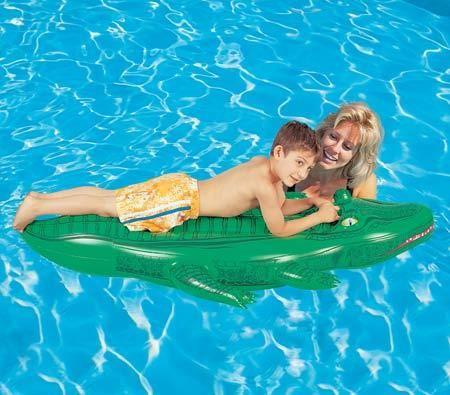 Splash and Play Jumbo Crocodile Pool Ride On - http://idealhomechoices.com/splash-and-play-jumbo-crocodile-pool-ride-on/
