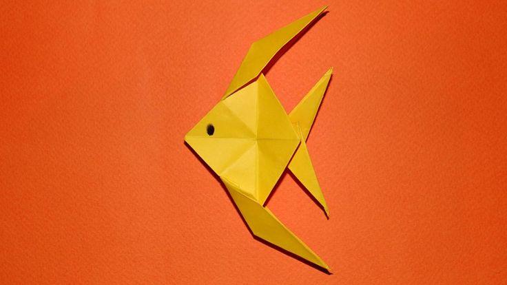 poisson chinoisorigami tuto - Recherche Google