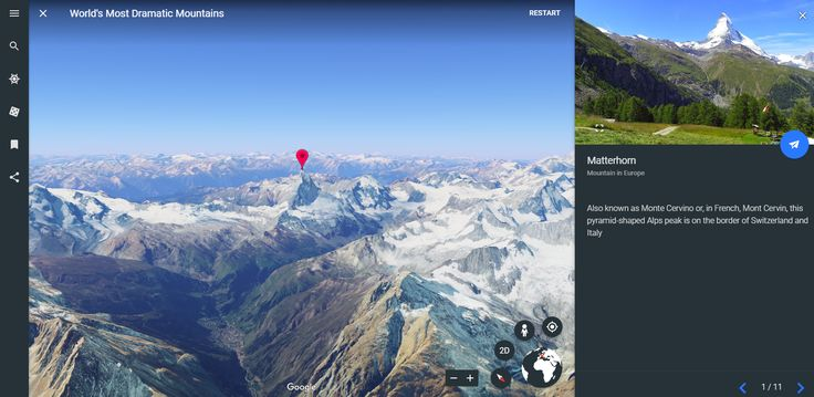 This morning Google released a completely new version of Google Earth. The new version is designed to be used in the Chrome web browser or...