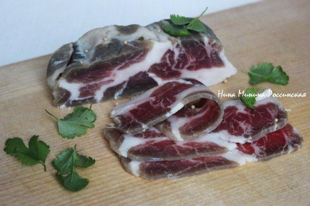 Вяленое мясо по-домашнему - это доступный каждому деликатес и эффектное блюдо на любое застолье да просто так. | Кулинарные Рецепты