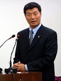 Lobsang Sangay premier ministre du gouvernement tibétain