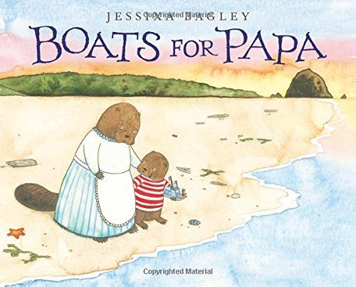 MOCK CALDECOTT SPRING 2016: Boats for Papa, illustrated by Jessixa Bagley - MAIN Juvenile PZ7.B145 Bo 2015 - check availability @ https://library.ashland.edu/search/i?SEARCH=9781626720398