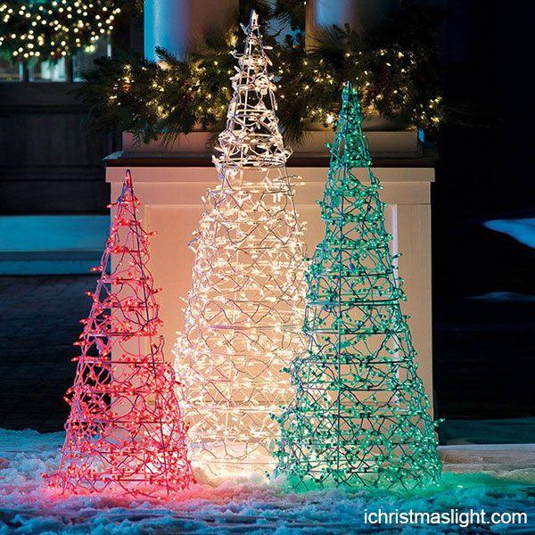 Commercial Christmas Decor Led Light Trees Ichristmasl Commercial Christmas Decorations Decorating With Christmas Lights Outdoor Christmas Decorations Lights