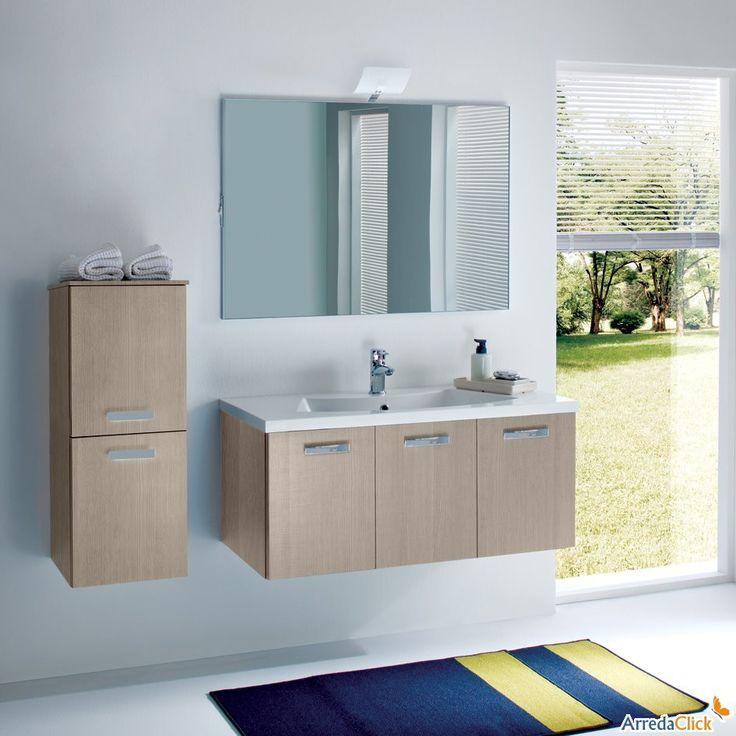 Winsome Remodeling Bathroom Ideas With Blue Beige Rug On Floor Including Elegant  Vanity Sink Plus Mirror Wall Mount Beside Window Remodeling Bathroom Ideas  ...
