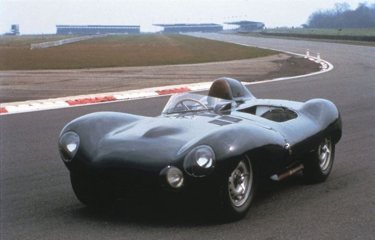 The D-Type used monocoque construction and aerodynamics penned by Malcolm Sayer, 1954 D-Ty...