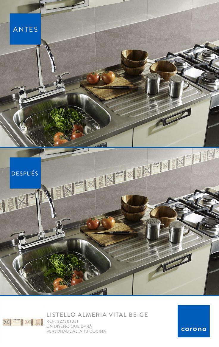 Hay detalles que marcan la diferencia, ¿Te gustaría tener esta decoración en tu cocina?