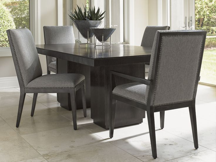 Carrera Vantage Upholstered Side and Arm Chairs - Lexington Home Brands | Get the latest styles from Lexington Furniture at the Heritage House Home Interiors locations in Sarasota and Pinellas Park, Florida