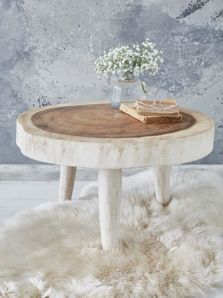 natural tree table - nordic house