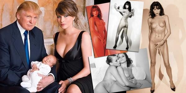 New York Post Publishes New Nude Photos Of Donald Trump's Wife Melania - Conservative Outfitters