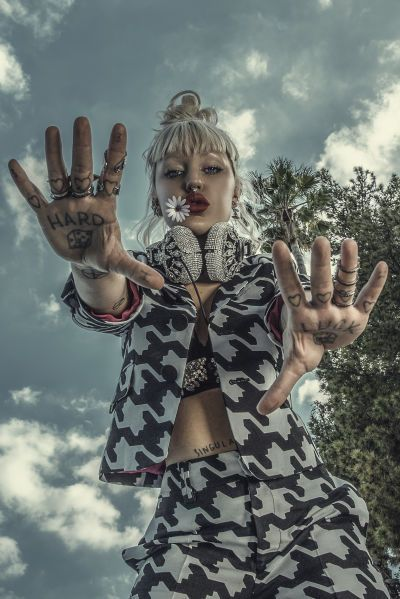 Brooke Candy: Sugar Rush - NYLON June July 2016