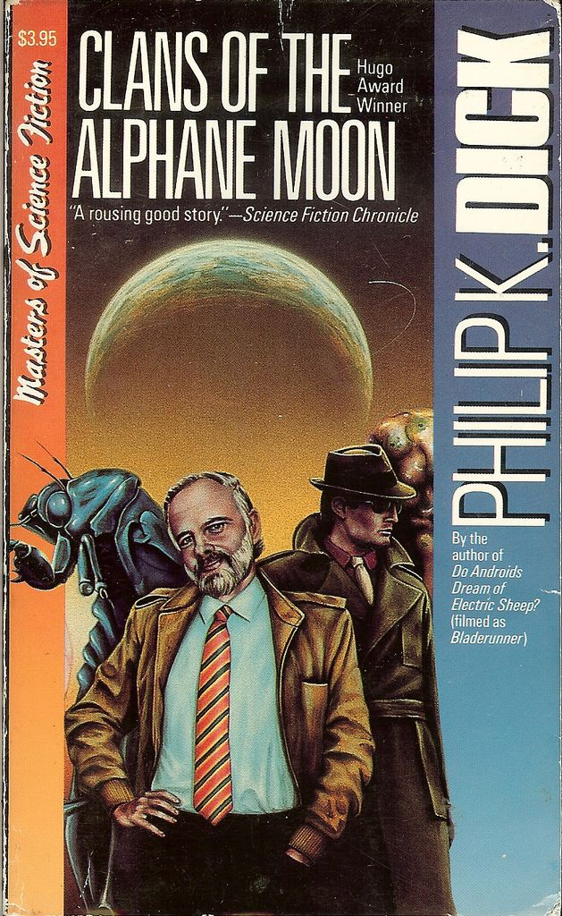https://flic.kr/p/6EpZWs | Clans of the Alphane Moon - Philip K. Dick | TITLE: Clans of the Alphane Moon AUTHOR: Philip Kindred Dick 1928-82 TYPE: paperback novel  PUBLISHER: Carroll & Graf  COVER PRICE: $ 3.95 ISBN: 0-88184-436-5 PAGES: 269 COPYRIGHT: 1964 by author PUB DATE: 1988-11 EDITION: 1st Carroll & Graf edition COVER ARTIST: ISFDB: Yes  RATING:  NOTATION: Afterword (Clans of the Alphane Moon) • (1984) • essay by Barry N. Malzberg INDEX: 0329 - Clans of the Alphane Moon - 36 ...