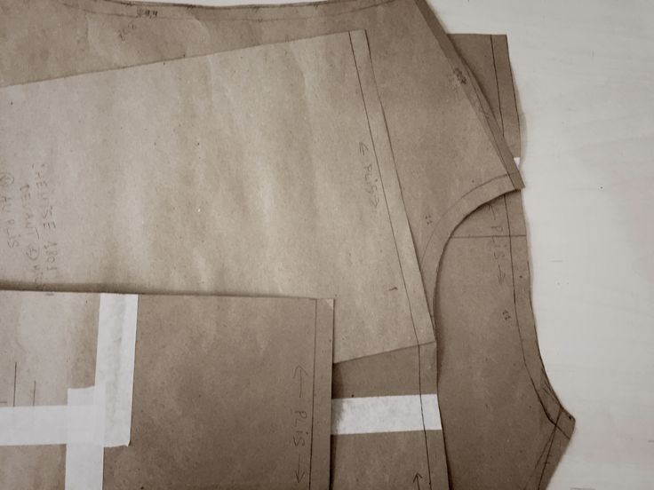 Shirt in progress. Sewing by Masha Andrianova