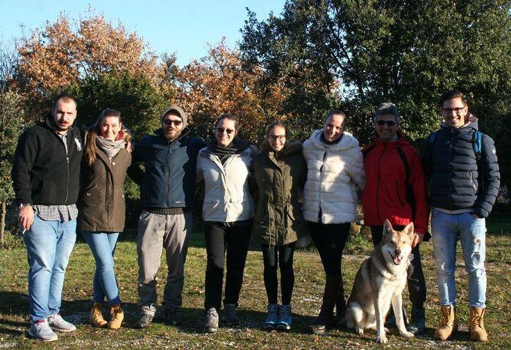 """Alcuni componenti del """"FOS-team"""" in visita all'Allevamento di Fossombrone 🐾#WeAreFossombrone #FOSteam"""