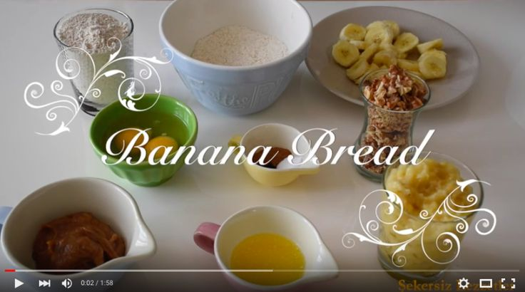 Banana Bread - Muzlu Ekmek