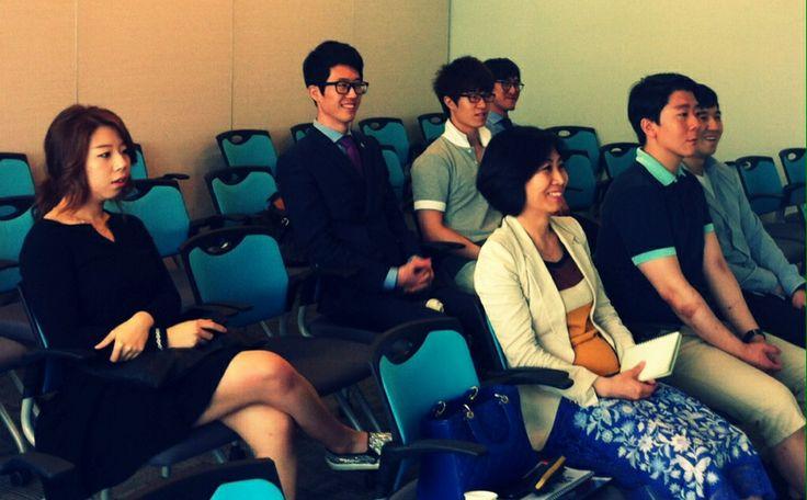 젊은 리더들과의 미팅. 주네스글로벌코리아를 이끌어갈 20대 리더들.