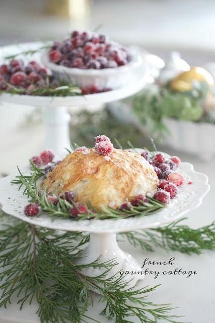 Christmas Kitchen~ Pecan & Cranberry Brie en Croute