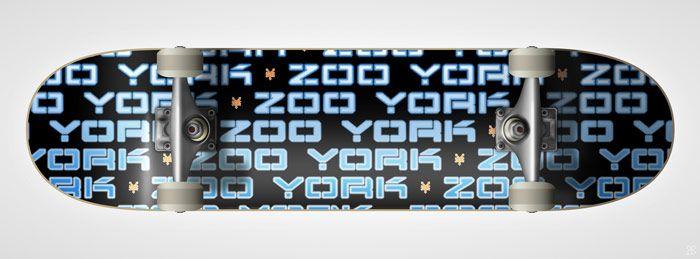 Zoo York Skateboards - New York, NY   Haeck Design Merch Portfolio #skateboard #merch #skate