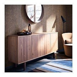 STOCKHOLM Sideboard, walnut veneer $599 Article Number :802.397.19 The sideboard in walnut veneer and solid ash brings a warm, natural feeling to your room. Read more Size 160x81 cm