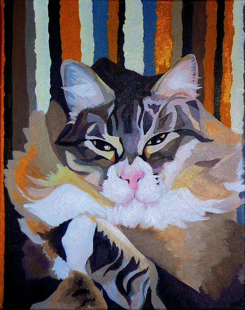 Poof painting by reowmeow!, via Flickr