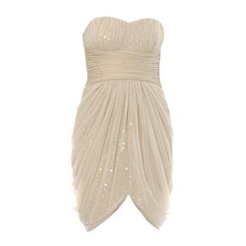 Robe de soirée beige - Manoukian - Ref: 1091323 | Brandalley