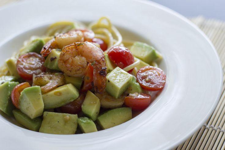 Spaghetti estivi con avocado e gamberi - di Luca Nebuloni #fuudly #ricette