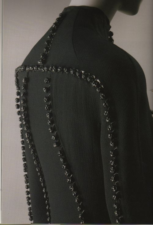 Ralph Rucci- Leather details are knotted..Beautiful!