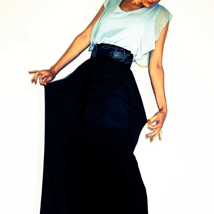 Long dress_ tramedinchiostro