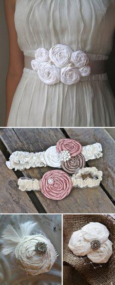 DIY flores para decorar tus accesorios