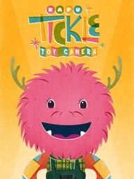 Tickle Toy Camera - adorable free app for little kids who might need some back seat distraction.: Kids Stuff, Camera App, Toys, Cameras, Character