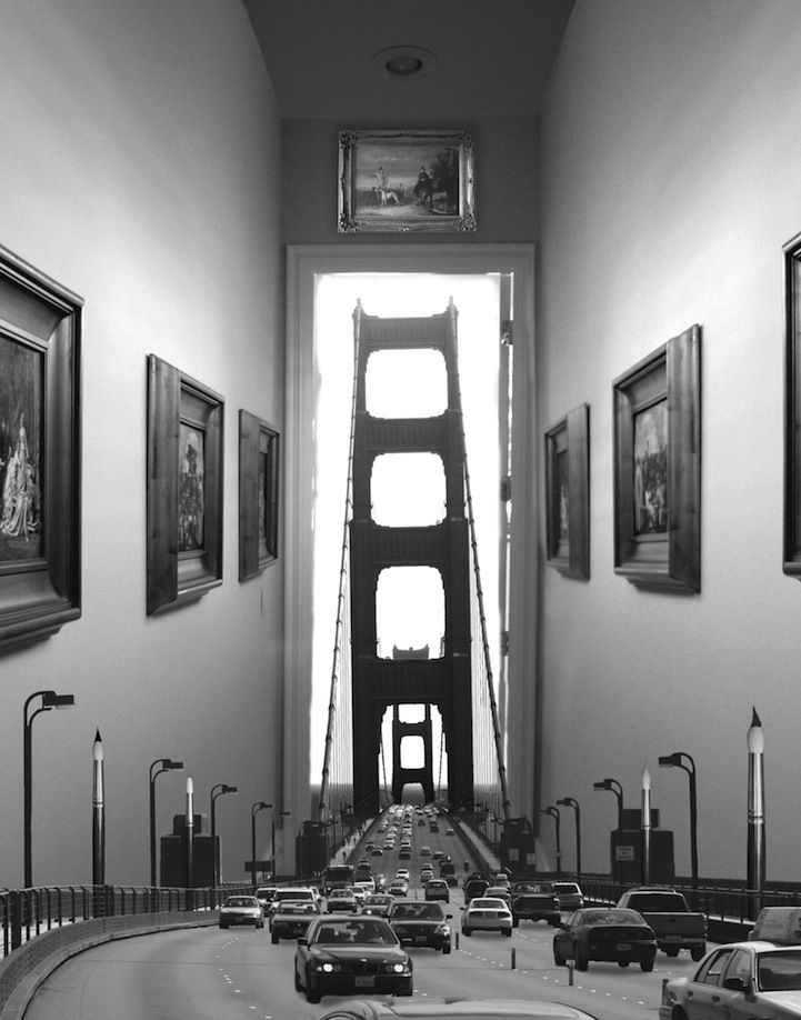 Whimsically Surreal Photo Montages by Thomas Barbéy - Imgur