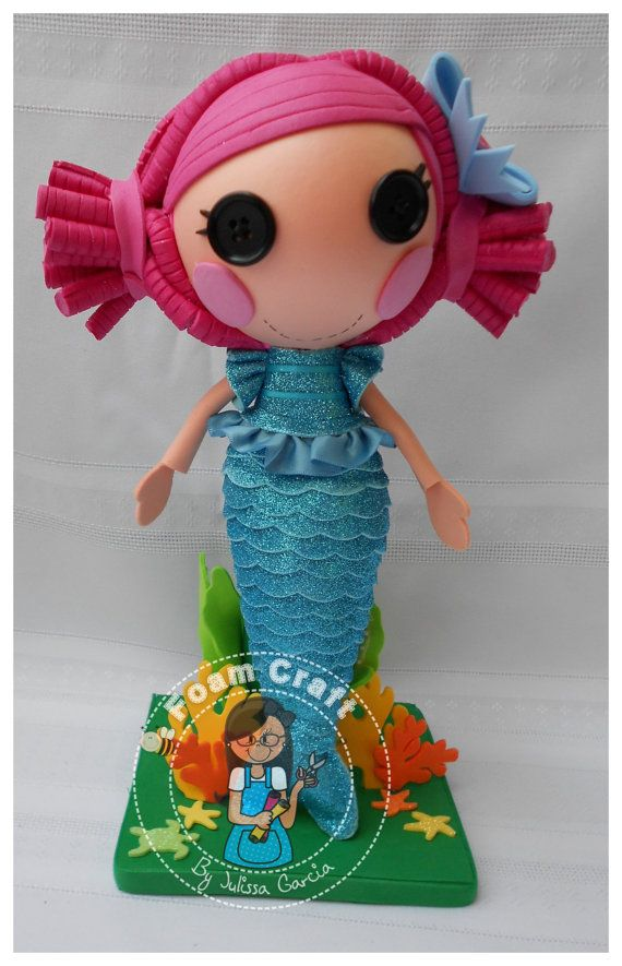 Fofucha mermaid Lalaloopsy