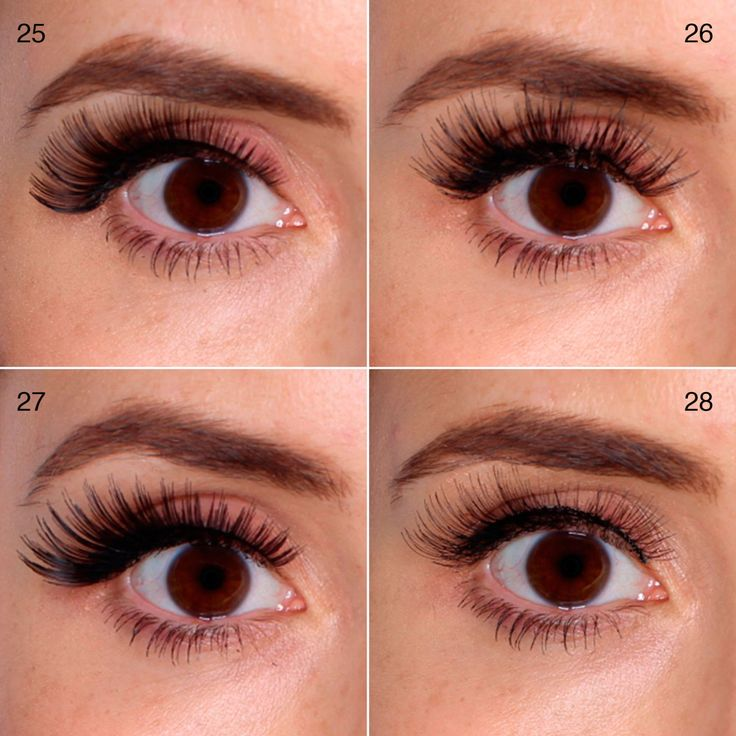 100 false lashes tested on ONE eye: picture reviews 26) eyelure 141