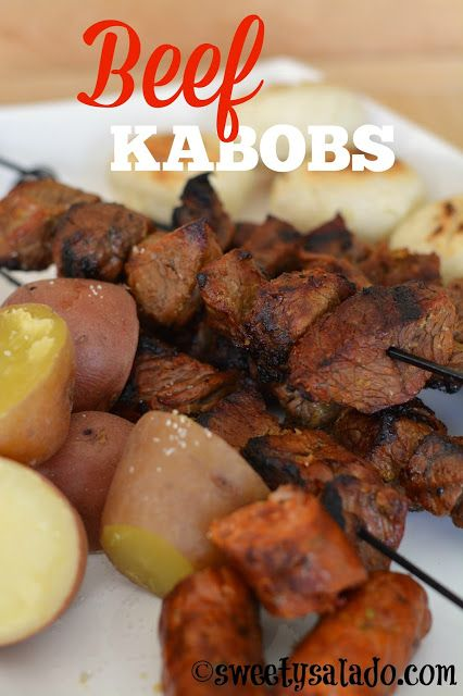 CHUZOS DE CARNE COLOMBIA-    Colombian Beef Kabobs // Chuzos de Carne Colombianos