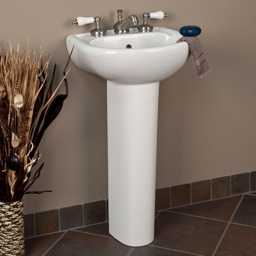Small Basin With Pedestal : small pedestal sink Ideas for the House Pinterest Small pedestal ...