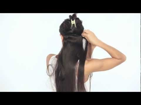 ** OMG I want to buy these! ** How to Clip In Luxy Hair Extensions – YouTube
