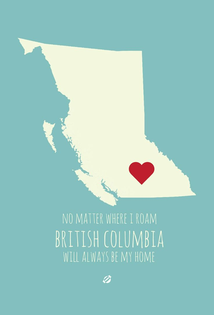 #LostBumblebee 2013 #CANADA #PRINTABLE Click here for this one and all of the other individual provinces ! www.lostbumblebee.blogspot.com  #BritishColumbia