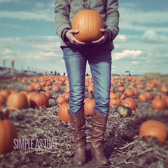 How to Take Spooky Pumpkin Photos - simple as that