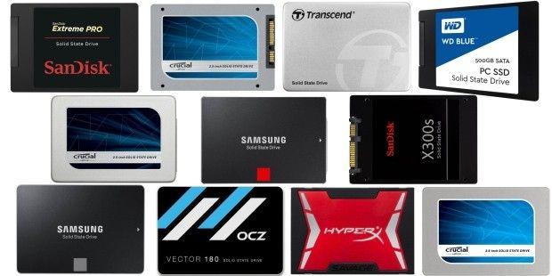 Test: SSD-Festplatten mit 480 bis 525 GB im Vergleich