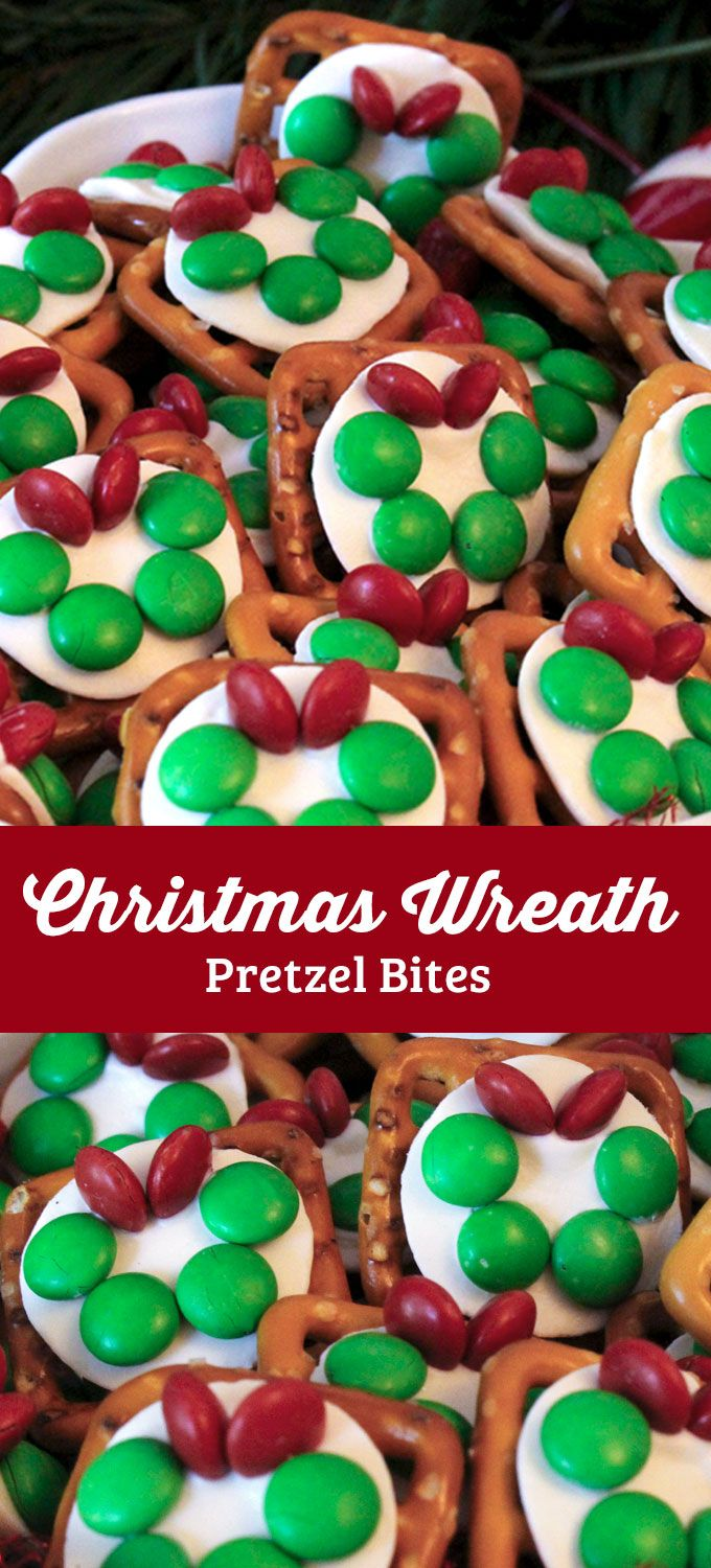 Our easy to make Christmas Wreath Pretzel Bites are delicious bites of sweet and salty goodness. They are a great Christmas Treat. Your friends and family will love this unique Christmas Dessert. Follow us for more fun Christmas Food Ideas.